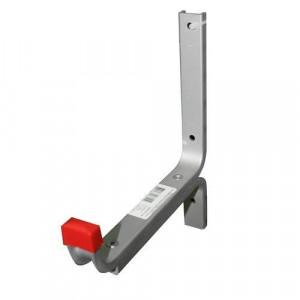 Крюк настенный алюминиевый усиленный КНУ 01.10.01л 170х210 (распределенная нагрузка до 50кг)