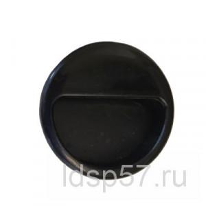 Ручка врезная PB D50 черная