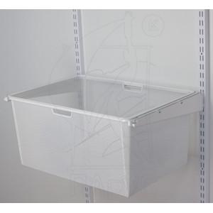 Корзина для мет.рамки 580*427*280 мм белая