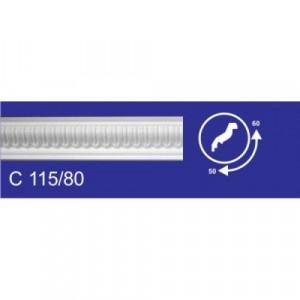 Плинтус потолочный  C115/80 Резной  (73*76/2м
