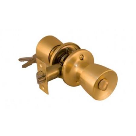 Замок 3091 РВ ЕТ золото завертка-ключ