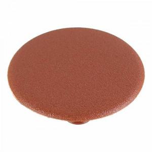 Заглушка пластиковая для отверстий d35 мм, коричневая