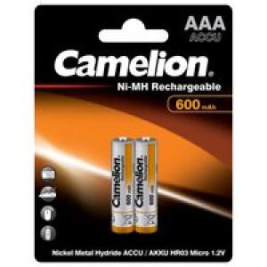 Аккумулятор Camelion R03 600 mAh Ni-MH BL2