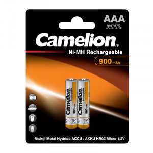 Аккумулятор Camelion R03 900 mAh Ni-MH BL2