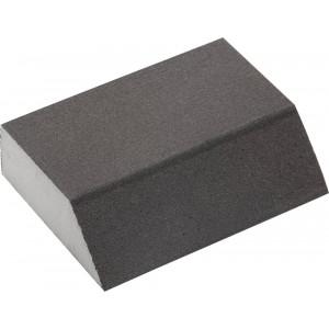 "Губка шлифовальная ЗУБР ""МАСТЕР"" четырехсторонняя угловая, средняя жесткость, Р320, 100х68х42х26мм"