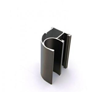 Ассиметричный профиль ручка APR01/2800/BP/3 бронза    2800мм