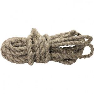 Веревка льнопеньковая  10мм  (10м)