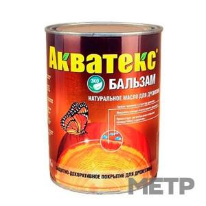 Акватекс (натуральное масло д/древесины) бесцветный 0,75 л