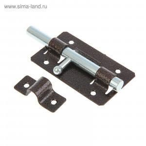 Задвижка дверная ЗД-01 полимер медь