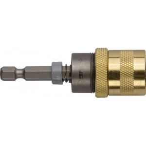 Адаптер  магнитный для бит, фиксатор, ограничитель глубины вворачивания шурупов, 60мм