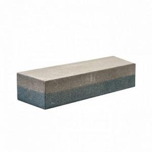 Брусок абразивный  прямоугольный, 200х50х30 мм, P120/P240. коробка