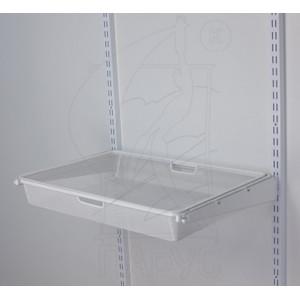 Корзина для мет.рамки 580*427*80 мм белая