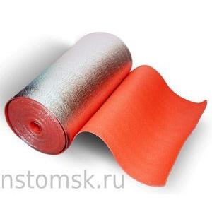 Изоляция отраж. для бань и саун ОРАНЖЕВАЯ 5 мм (30 кв.м.шир 1м)