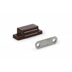 Магнитная защ.мебельная усиленная 60*15 средняя  коричневая