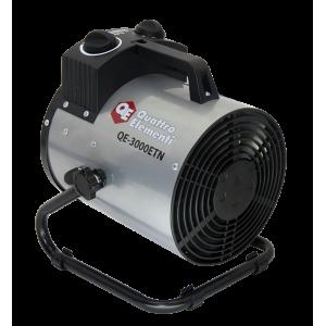 Нагреватель воздуха электрический QUATTRO ELEMENTI QE-3000 ETN (1,5 / 3кВт, 220В, 390 м3/час) — цилиндр