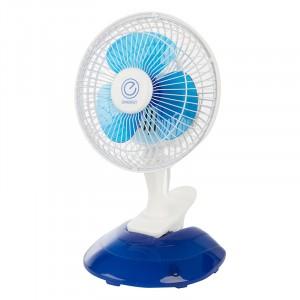 Вентилятор настольный Energy EN-0601 на прищепке и на подставке, 15Вт, 2 скор, d=15см