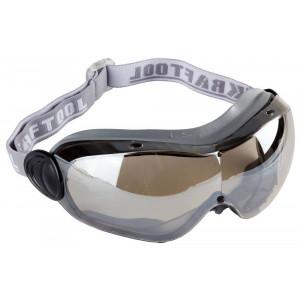 """Очки  защитные с непрямой вентиляцией, с оправой из термопластэластомера, линза поликарбонатная KRAFTOOL """"EXPERT"""""""