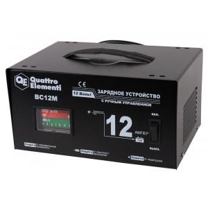Зарядное устройство QUATTRO ELEMENTI BC 12M (12В, 12А)