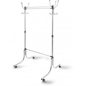Вешалка гардеробная (ВГ90-6/С серый)