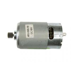 Двигатель на аккуму. шуруповерт с ответной шестерней (d10, 12 зуб.): C1 - 18В Интерскол, BOSCH
