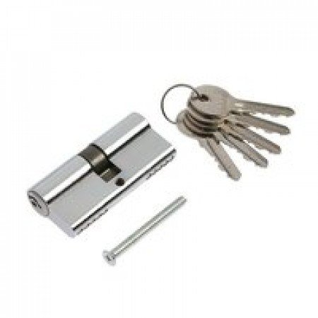 Цилиндр POLIDORE 80 РС ключ/ключ Хром