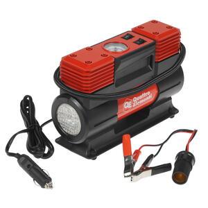 Компрессор автомобильный QUATTRO ELEMENTI Smart 65 (12 Вольт, 200 Вт, 10 бар, 65 л/мин, фонарь, сумк