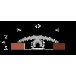 Крепление порога гибкий 6мм*1500мм