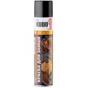 #Краска для замши и нубука черная 400 мл KUDO-5251