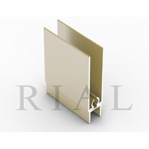 Горизонтальный нижний проф.   GNP01/2900/SG/4  золото белое