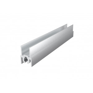 Горизонтальный верхний профиль  GVP01/2900/SC  серебро
