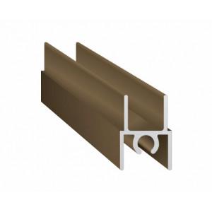 Горизонтальный верхний профиль  GVP01/2900/BP  бронза