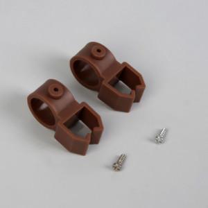 Держатели для шины коричневые (2шт)