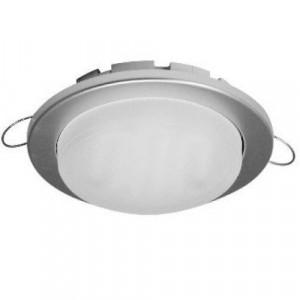 Встраиваемый потолочный светильник Ecola GX53 DGX5315 Легкий Серебро 16*101