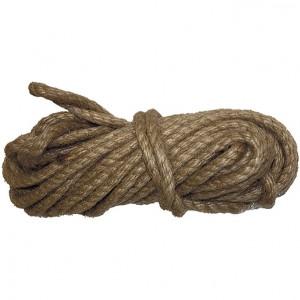Веревка джутовая 10м крученая 8мм