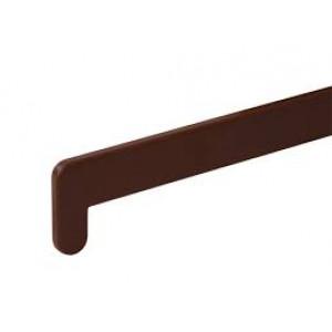 Заглушка для подоконника 600мм коричневая
