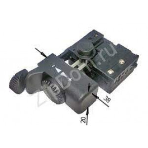 Выключатель подходит для дрели Интерскоп ДУ-500-800Р ( в пакете с наклейкой)
