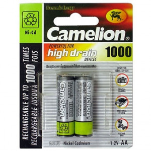 Аккумулятор Camelion R6 1000 mAh Ni-MH BL2