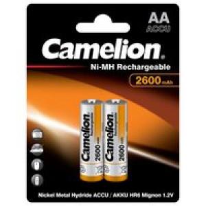Аккумулятор Camelion R6 2600 mAh Ni-MH BL2
