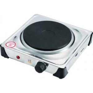 Плитка IRIT IR-8201 1конфорка диск 1кВт нерж.сталь