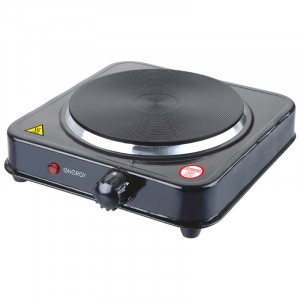 Плитка Электрическая 1 конф.EN-901-1.0 кВт диск черная