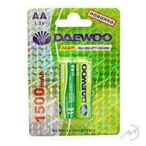 Аккумулятор Daewoo R6 1500 mAh Ni-MH BL2
