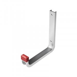 Крюк настенный алюминиевый КН 03.10.01л 140х150 (распределенная нагрузка до 25кг)