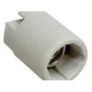 Патрон Е14 керамический подвесной белый TDM