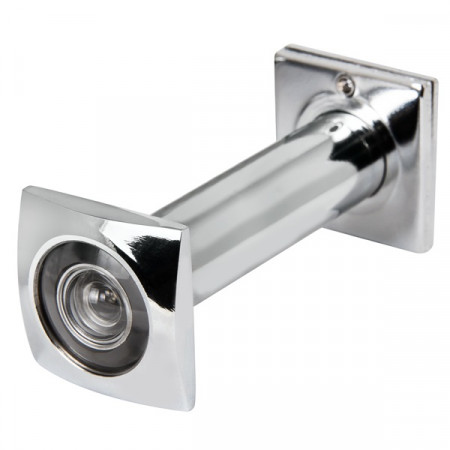 Глазок дверной КВАДРАТНЫЙ 70х130 PC 16мм Хром GL