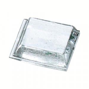 Демпфер 12,6*5,7мм (3126) самокл.прозрачный (10шт)