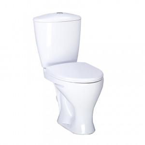 """Унитаз с бачком """"Версия крап на белом"""" + сиденье"""