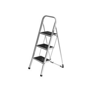 Лестница-стремянка стальная с широкими ступенями 3ст