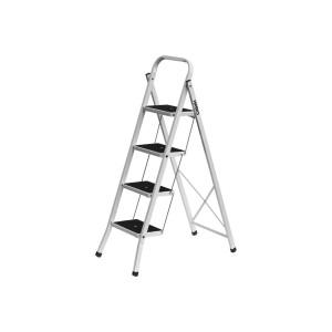 Лестница-стремянка стальная с широкими ступенями 4ст