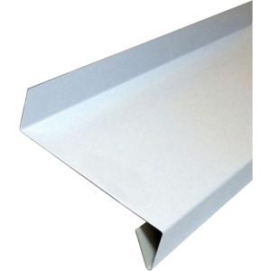 Отлив 150 мм стальной белый
